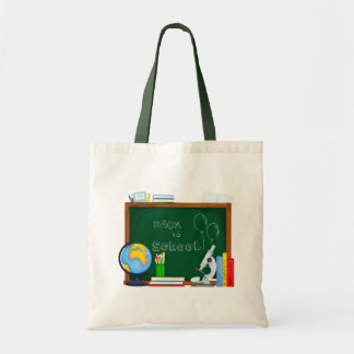Back to School Illustration Tote Bag