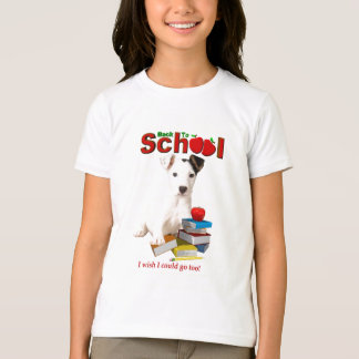 Back To School - Jack Russell Terrier T-Shirt