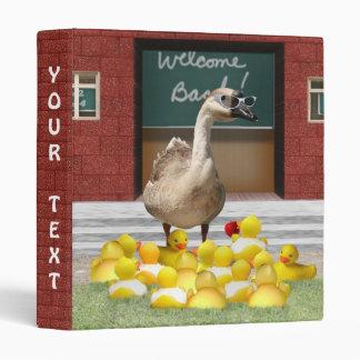 Back To School, Little Duckies! Binders