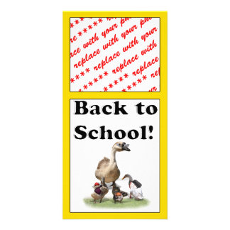 Back To School, Little Ducks! Photo Greeting Card