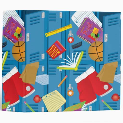 back to school locker notebook 3 ring binder