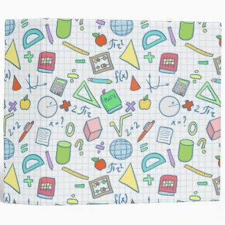 Back to school: math binder