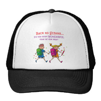 Back to School...Most Wonderful Time of the Year! Hats