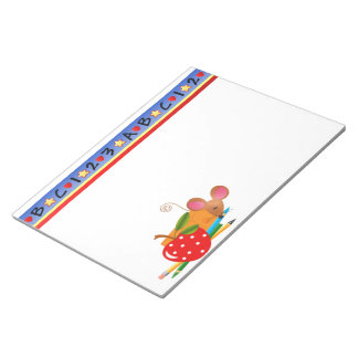 Back to School Mouse Notepad