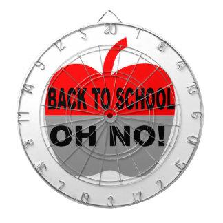 Back To School Oh No Dartboard With Darts