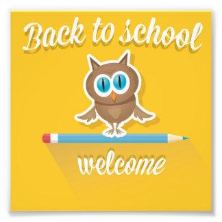 back to school,owl on yellow,template,fun,cute, photo
