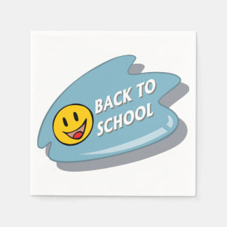 Back To School Paper Napkins