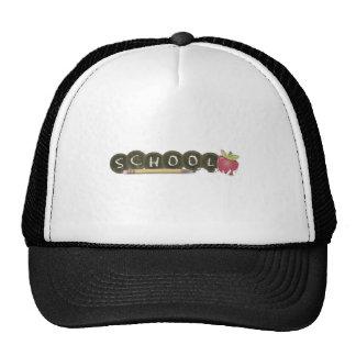 Back to school-pencils mesh hat