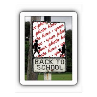 Back to School Photo Frame Postcard