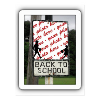 Back to School Photo Frame Postcard