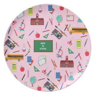Back to School Plate