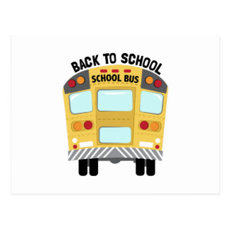 Back To School Postcard