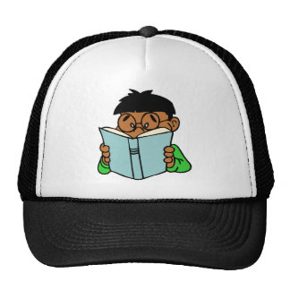 Back to school, reading is fun mesh hats