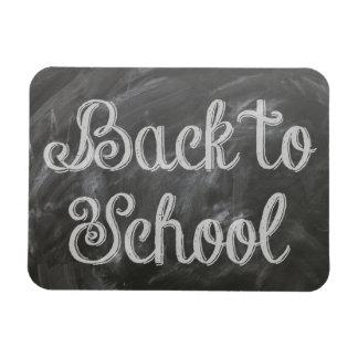 Back To School Rectangular Photo Magnet