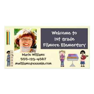 Back To School Teacher Cards Photo Cards