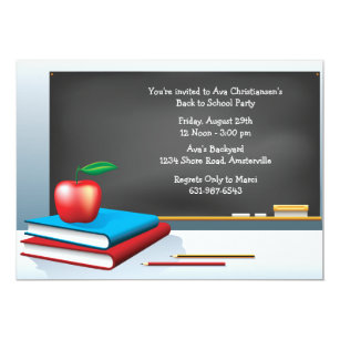 End of school year party invitations announcements zazzle ca back to school time invitation stopboris Gallery