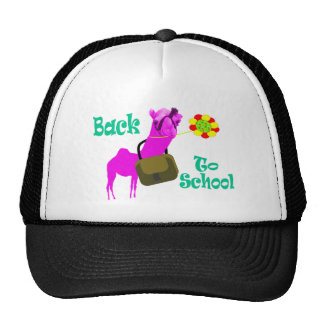 Back to school tishirt trucker hat