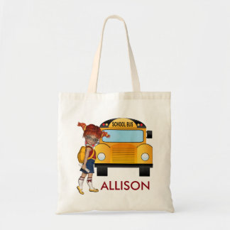 Back to School Tote Bag with monogram