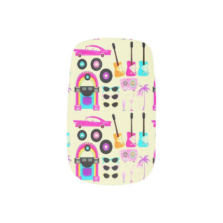 Back To The 50's Minx Nail Art