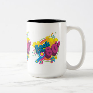 Back To The 80's Retro 80's Mug