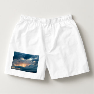 back to the early show boxers