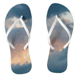 back to the early show flip flops