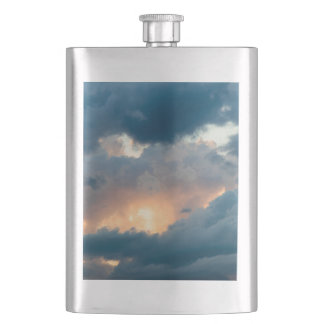 back to the early show hip flask