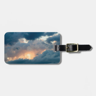 back to the early show luggage tag