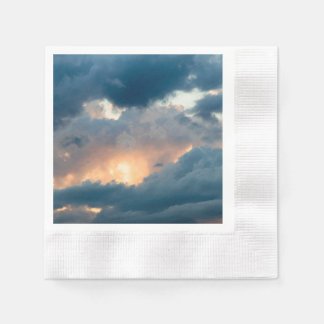 back to the early show paper napkins