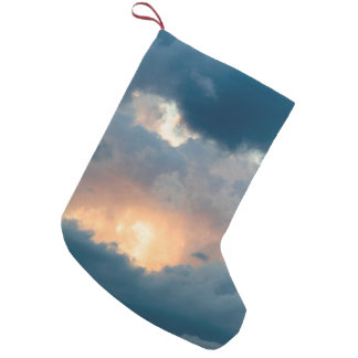 back to the early show small christmas stocking