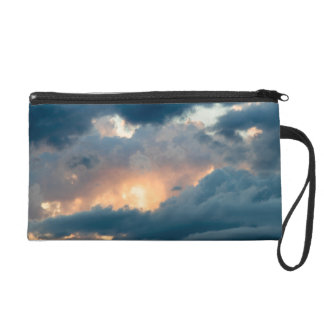 back to the early show wristlet