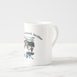 Back Yard Griller Dad Tea Cup