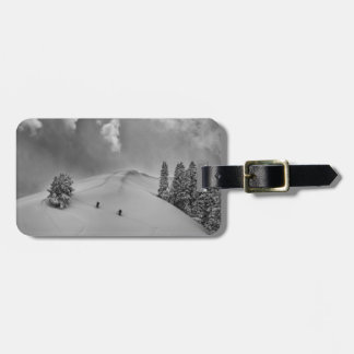 Backcountry Ski Climbers in fresh powder Luggage Tag