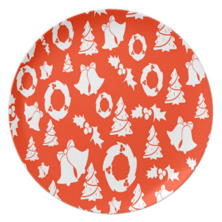 backdrop background card christmas plate