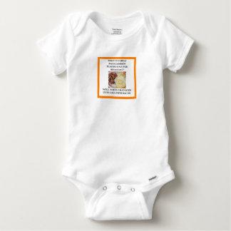 BACKGAMMON BABY ONESIE