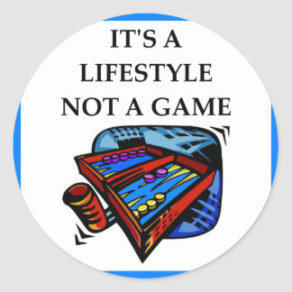 backgammon,game,play,player,playing,lover,i+love,f classic round sticker