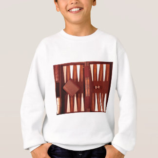 Backgammon game sweatshirt