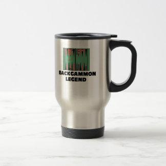 Backgammon Legend Travel Mug