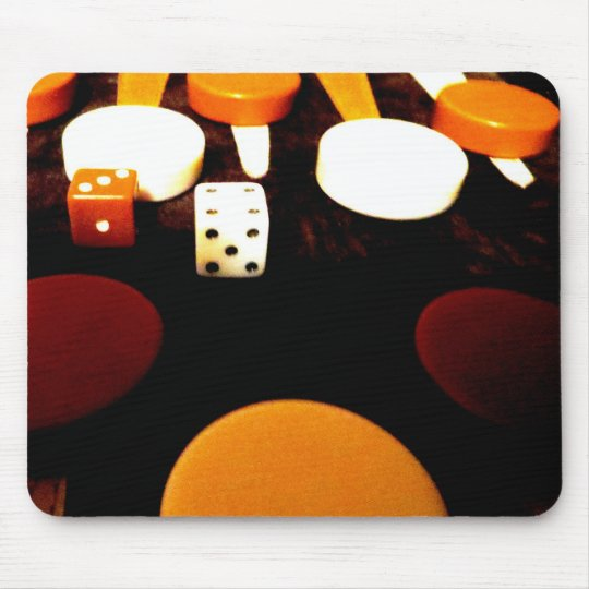 Backgammon Mouse Pad