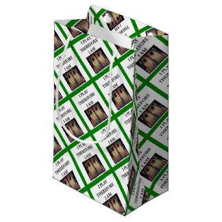 backgammon small gift bag