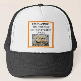BACKGAMMON TRUCKER HAT