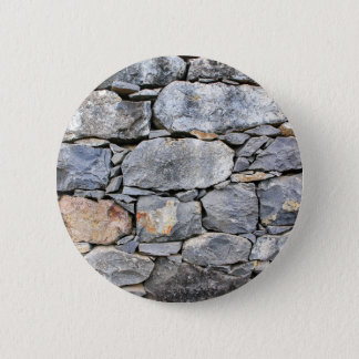 Backgound of natural stones as wall 2 inch round button