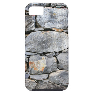 Backgound of natural stones as wall iPhone 5 case