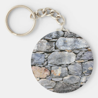 Backgound of natural stones as wall keychain
