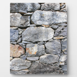 Backgound of natural stones as wall plaque