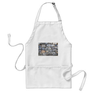 Backgound of natural stones as wall standard apron