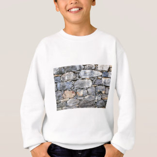 Backgound of natural stones as wall sweatshirt
