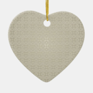 background #32 ceramic heart ornament