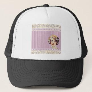 background #37 trucker hat