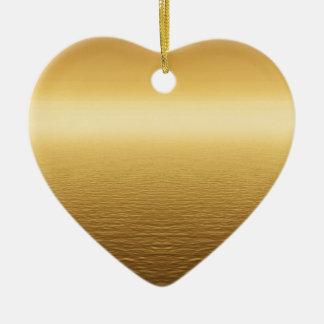background #4 ceramic heart ornament